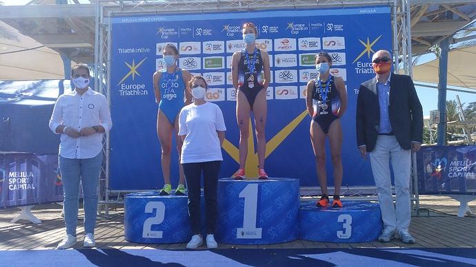 Podium_Copa_Europa_Melilla_femenina